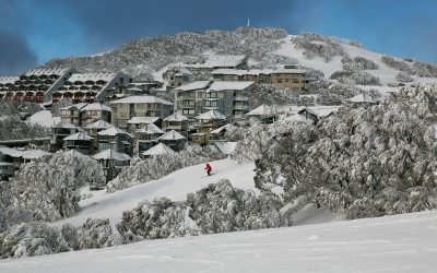 Mt Hotham ski resort, Victoria, Australia
