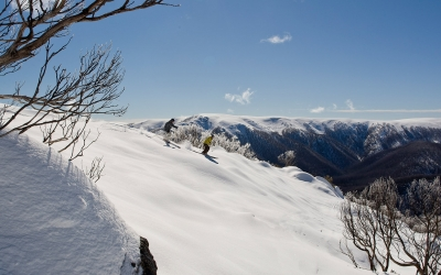 Falls Creek ski resort, Victoria, Australia